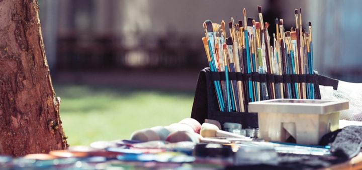 Les Petits Painters news and updates on art and craft classes for children