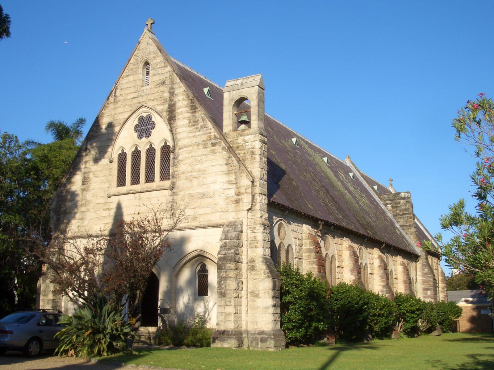 Hunters Hill All Saints Anglican Church. Photo by J Bar.