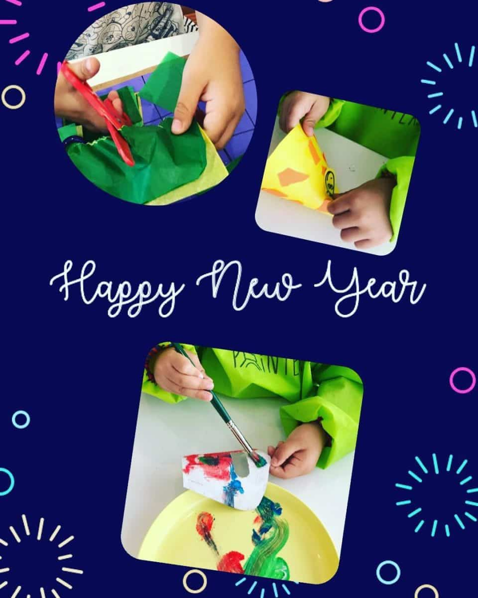 Happy New Year greetings from Les Petits Painters! | LesPetitsPainters.com.au