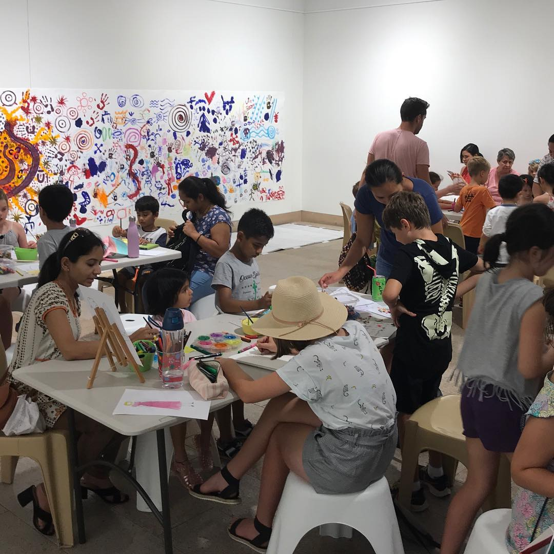 Les Petits Painters art and craft classes for kids