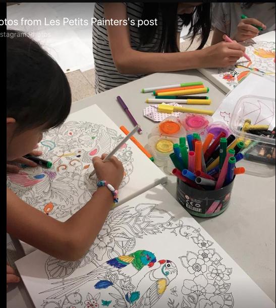 Les Petits Painters, Eckersley's Art & Craft, art
