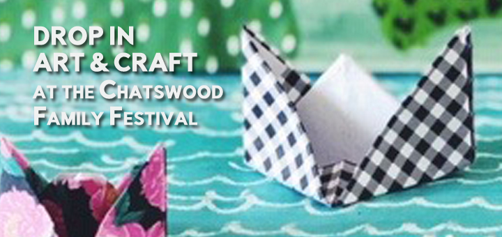 Les Petits Painters is happy to be a part of the Drop In Art & Craft program of The Chatswood Family Festival!