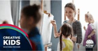 Creative Kids Provider Les Petits Painters art classes